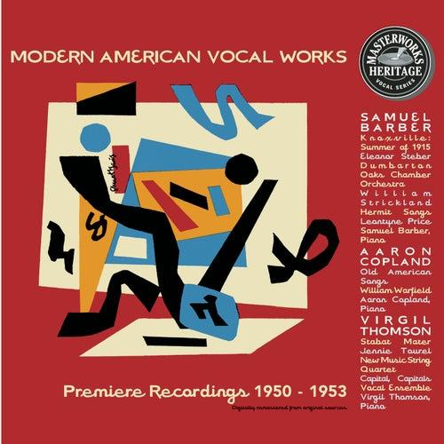 The American Album (Barber, Copland, Thomson) von Aaron Copland