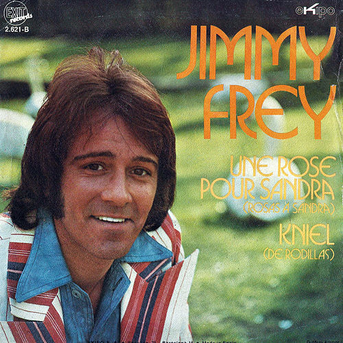 Une Rose Pour Sandra / Kniel - Single de Jimmy Frey