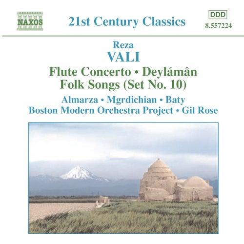 VALI: Flute Concerto / Deylaman / Folk Songs (Set No. 10) by Various Artists