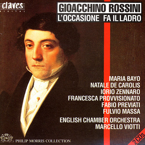 Rossini: L'occasione fa il ladro, Early One-Act Operas, Vol. 3/5 by Fulvio Massa