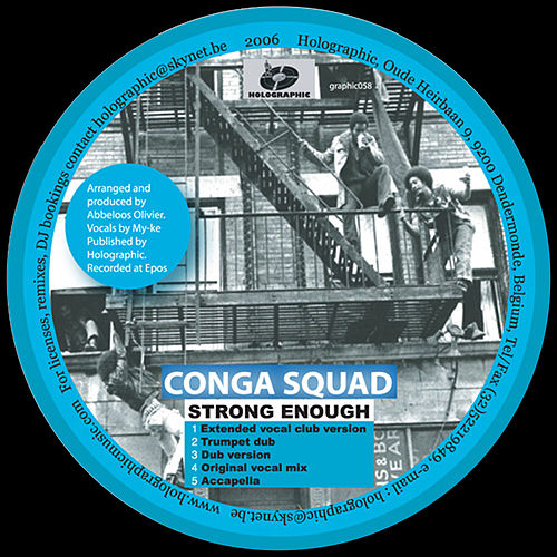 Strong Enough by Conga Squad