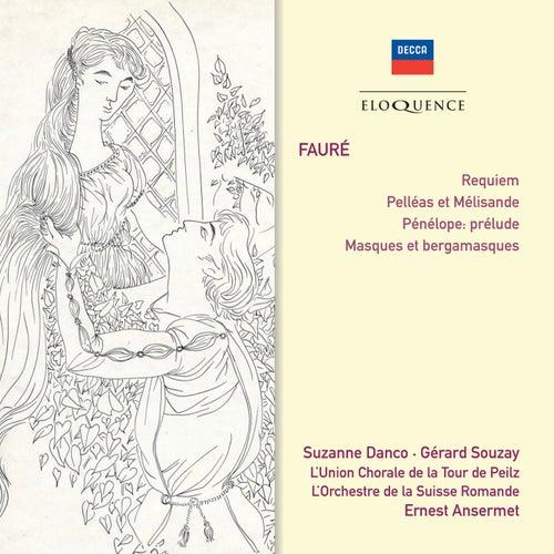 Fauré: Requiem; Pelléas et Mélisande; Masques et Bergamasques von Suzanne Danco