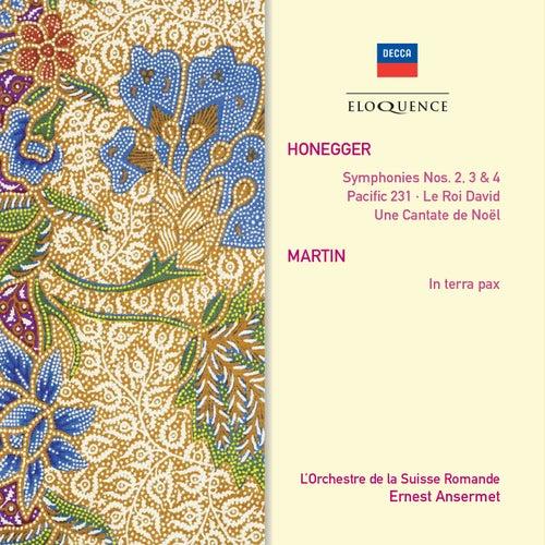 Honegger: Le Roi David; Symphonies Nos.2, 3 & 4; Pacific 231; Martin: In Terra Pax von L'Orchestre de la Suisse Romande