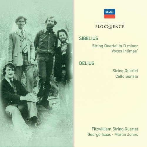Sibelius: String Quartet in D minor; Delius: String Quartet; Cello Sonata von Fitzwilliam Quartet
