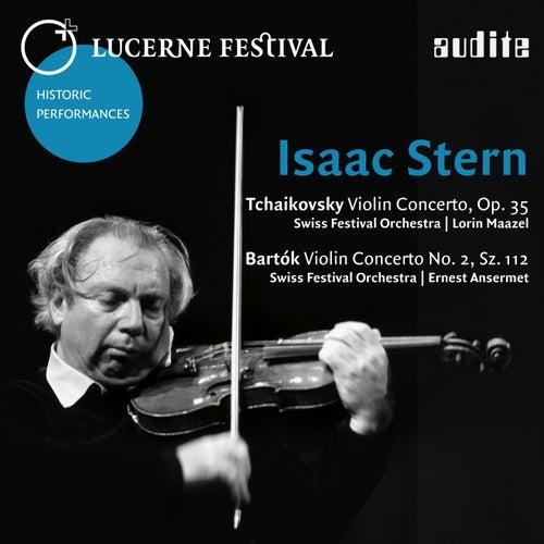 Lucerne Festival Historic Performances, Vol. II (Tchaikovsky: Violin Concerto, Op. 35 - Bartók: Violin Concerto No. 2, Sz. 112) von Various Artists