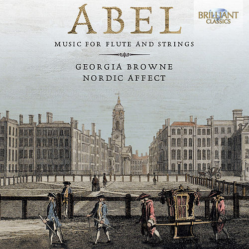 Abel: Music for Flute and Strings by Nordic Affect