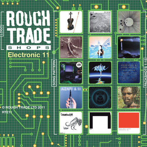 Rough Trade Electronic '11 fra Various Artists