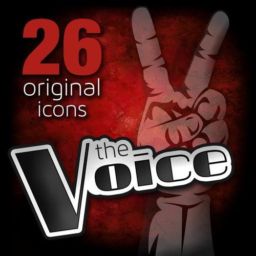 The Voice - 26 Original Icons de Various Artists