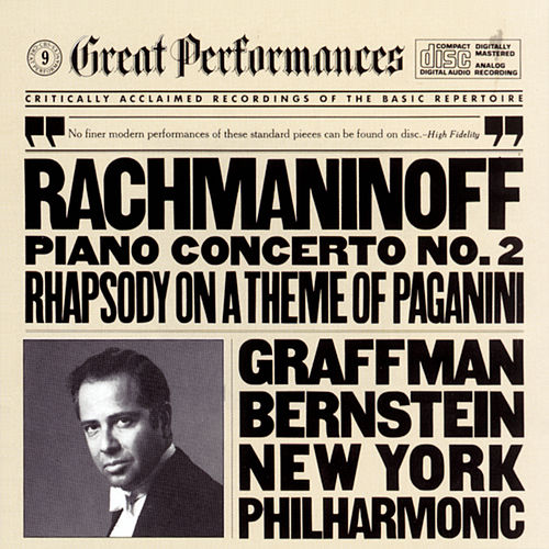 Rachmaninoff: Piano Concerto No. 2 in C Minor, Op. 18 & Rhapsody on a Theme of Paganini, Op. 43 by New York Philharmonic