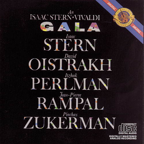 An Isaac Stern Vivaldi Gala de Various Artists