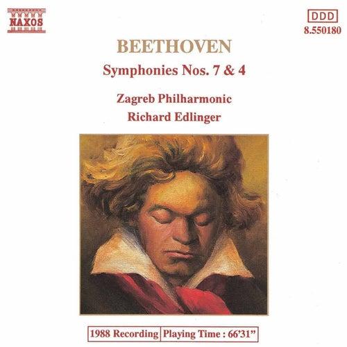 BEETHOVEN : Symphonies Nos. 7 & 4 de Slovak Radio Symphony Orchestra
