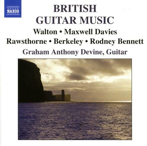 BRITISH GUITAR MUSIC by Graham Anthony Devine