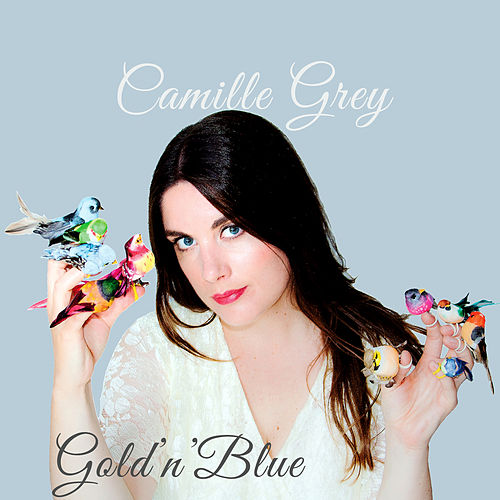 Gold 'n' Blue by Camille Grey