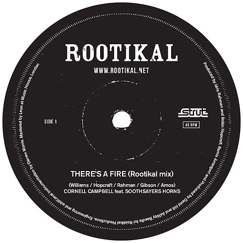 There's A Fire (Rootikal mixes) de Various Artists