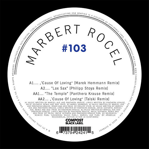 Compost Black Label #103 de Marbert Rocel