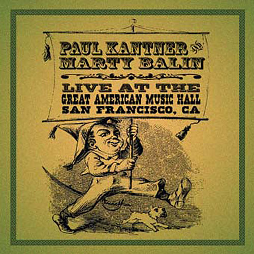 Live At The Great American Music Hall, San Francisco,CA de Paul Kantner