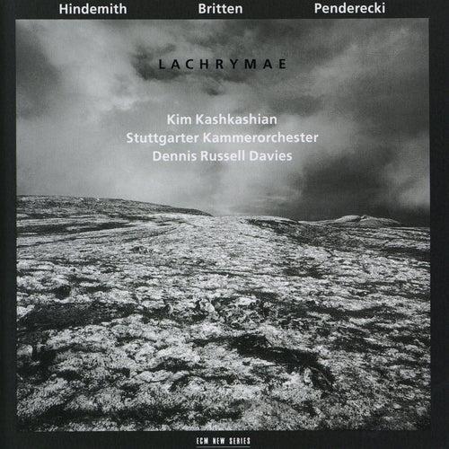 Hindemith, Britten, Penderecki: Lachrymae by Dennis Russell Davies