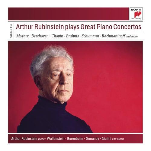 Arthur Rubinstein Plays Great Piano Concertos de Arthur Rubinstein