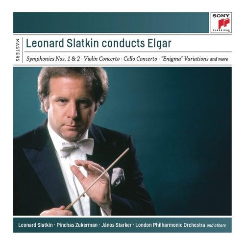Leonard Slatkin Conducts Elgar fra Leonard Slatkin