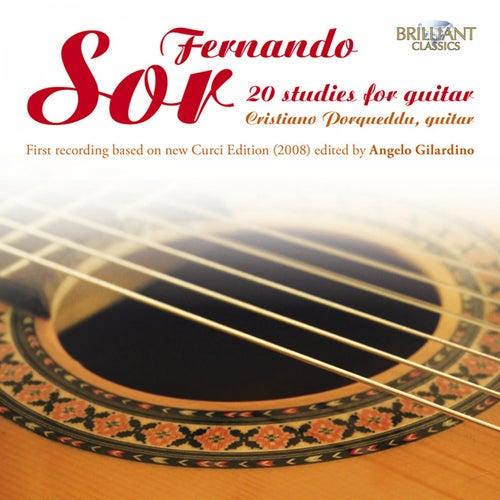 Sor: 20 Studies for Guitar by Cristiano Porqueddu