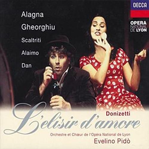 Donizetti: L'Elisir d'Amore by Roberto Alagna
