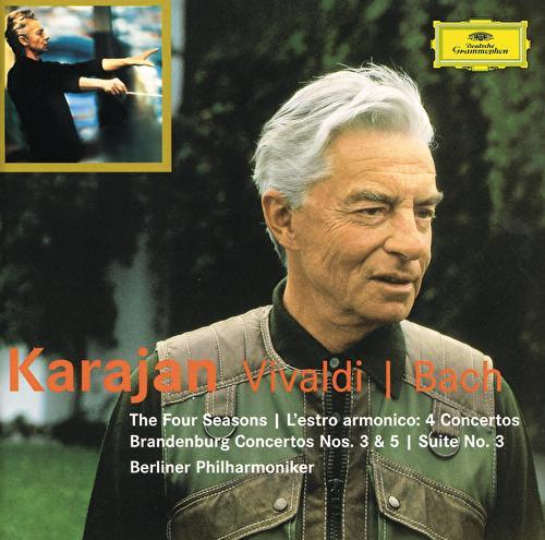 Vivaldi: The Four Seasons; L'estro armonico / Bach: Brandenburg Concertos Nos.3 & 5; Suite No.3 di Berliner Philharmoniker