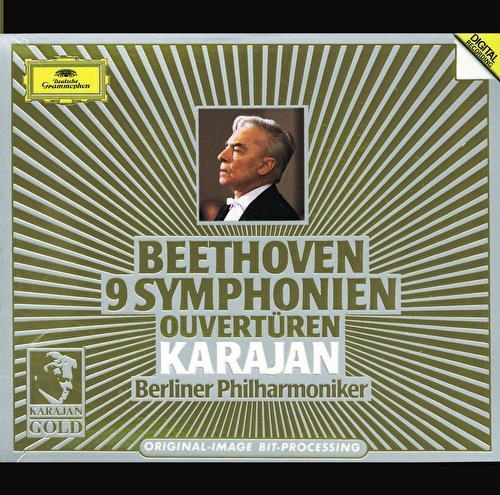 Beethoven: 9 Symphonies; Overtures by Berliner Philharmoniker