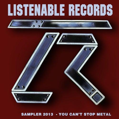 Listenable 2013 Winter Sampler (You Can't Stop Metal) de Various Artists