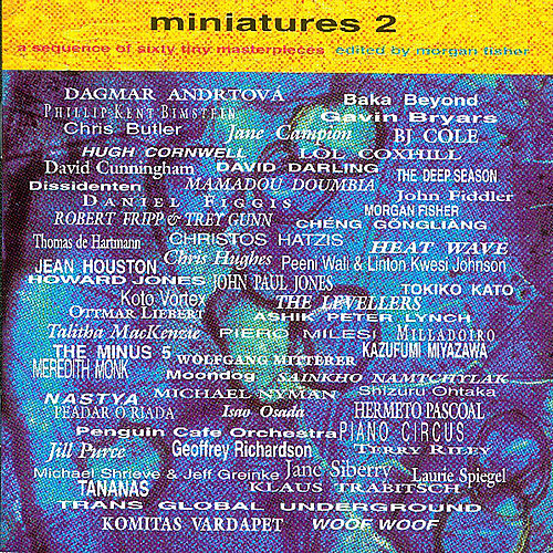 Miniatures 2 Edited By Morgan Fisher de Various Artists
