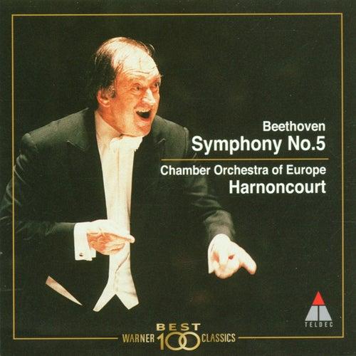 Beethoven : Symphony No.5 von Nikolaus Harnoncourt