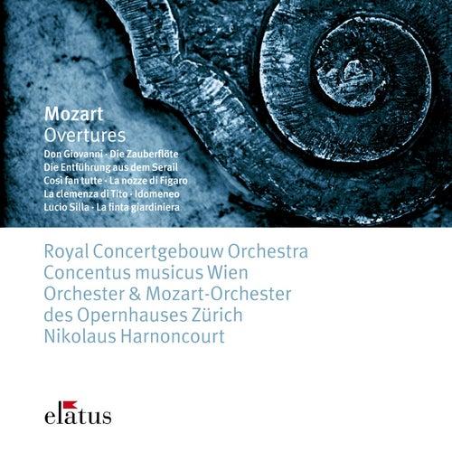 Mozart : Overtures (-  Elatus) by Nikolaus Harnoncourt