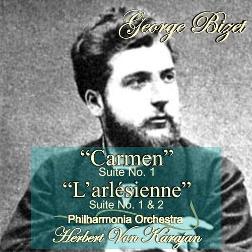 G. Bizet: 'Carmen' Suite No. 1 - 'L'arlésienne' Suite No. 1 & 2 by Herbert Von Karajan