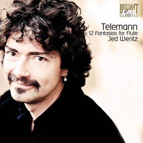 Telemann: 12 Fantasias for Flute, TWV 40:2-13 by Jed Wentz