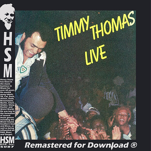 Timmy Thomas Live de Timmy Thomas