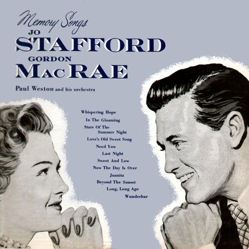 Memory Songs by Jo Stafford