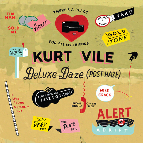 Wakin On A Pretty Daze: Deluxe Daze (Post Haze) by Kurt Vile