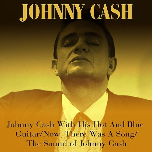 Johnny Cash With His Hot And Blue Guitar / Now, There Was A Song / The Sound of Johnny Cash de Johnny Cash