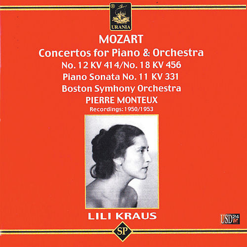Lili Kraus Plays Mozart de Lili Kraus