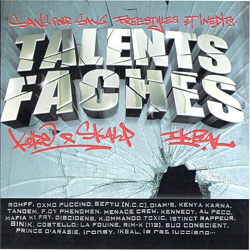 Mixtape Talents Fâchés de Various Artists
