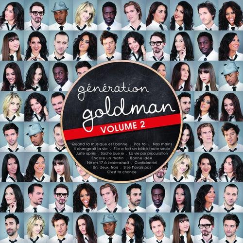 Génération Goldman, vol. 2 de Various Artists