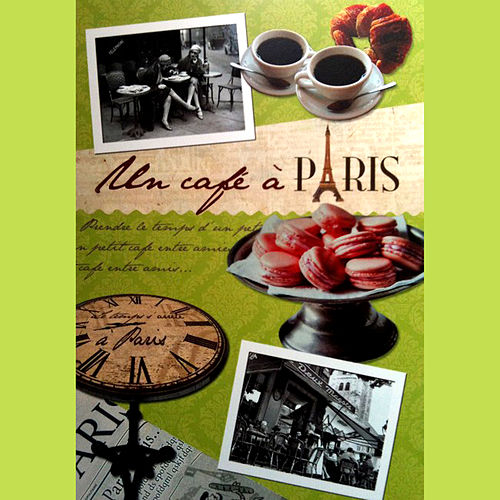 Un cafe a Paris de Various Artists