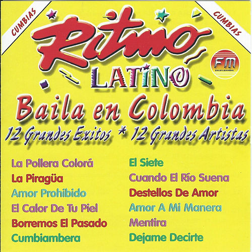 Baila En Colombia de Various Artists