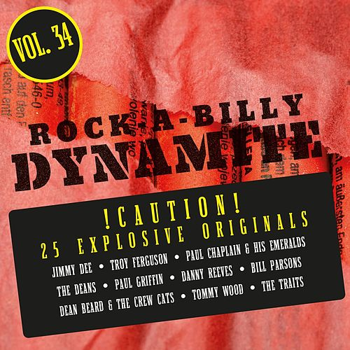 Rock-A-Billy Dynamite, Vol. 34 by Various Artists
