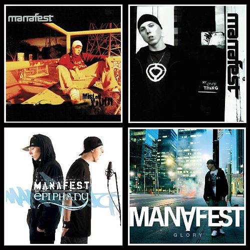 4 Pack (Misled Youth, My Own Thing, Epiphany, & Glory) de Manafest