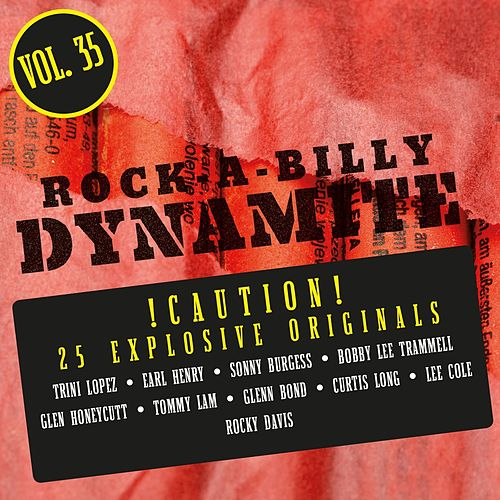 Rock-A-Billy Dynamite, Vol. 35 by Various Artists