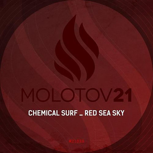 Red Sea Sky von Chemical Surf
