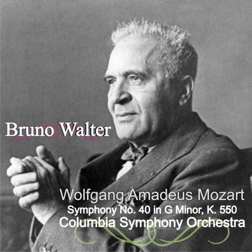 Wolfgang Amadeus Mozart: Symphony No. 40 in G Minor, K. 550 de Bruno Walter
