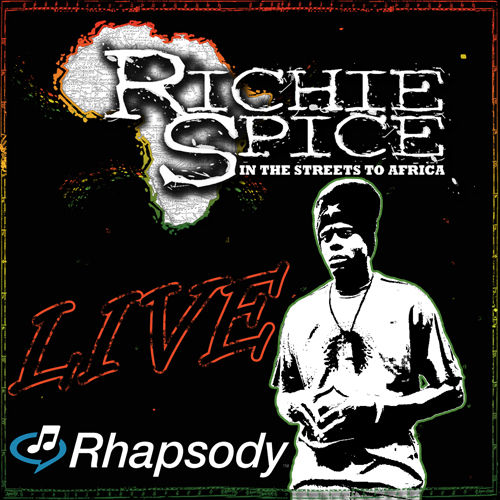 Live In The Streets von Richie Spice