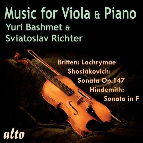 Music for Viola and Piano de Yuri Bashmet