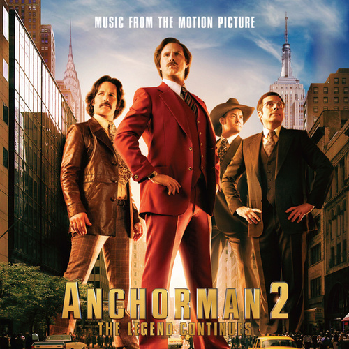 Anchorman 2: The Legend Continues - Music From The Motion Picture de Various Artists